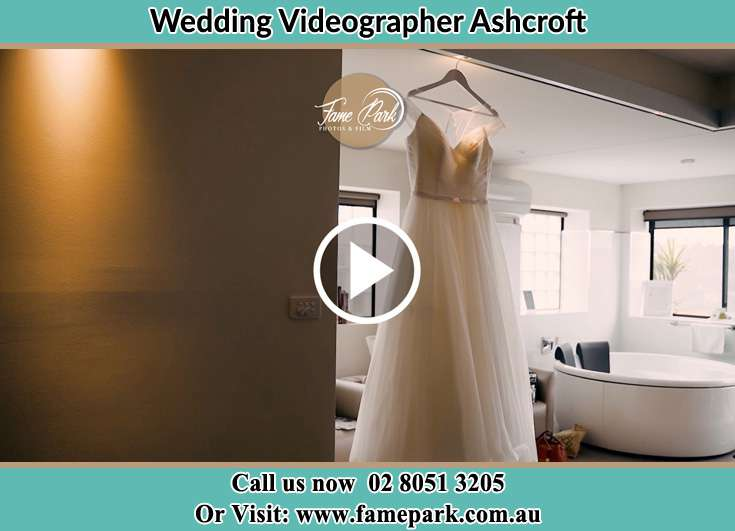 Bride's wedding gown Ashcroft NSW 2168