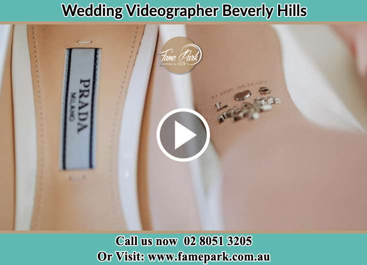 Bride's wedding shoes Beverly Hills NSW 2209