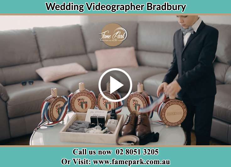 Groom wedding accesssories Bradbury NSW 2560