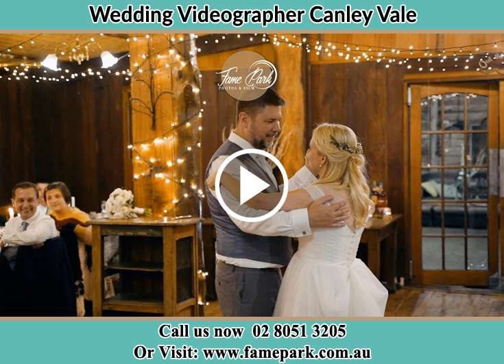 The newlyweds dancing on the dance floor Canley Vale NSW 2166