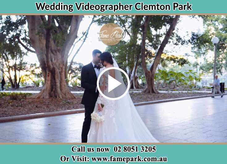 The Groom and the bride close to each other Clemton Park NSW 2206