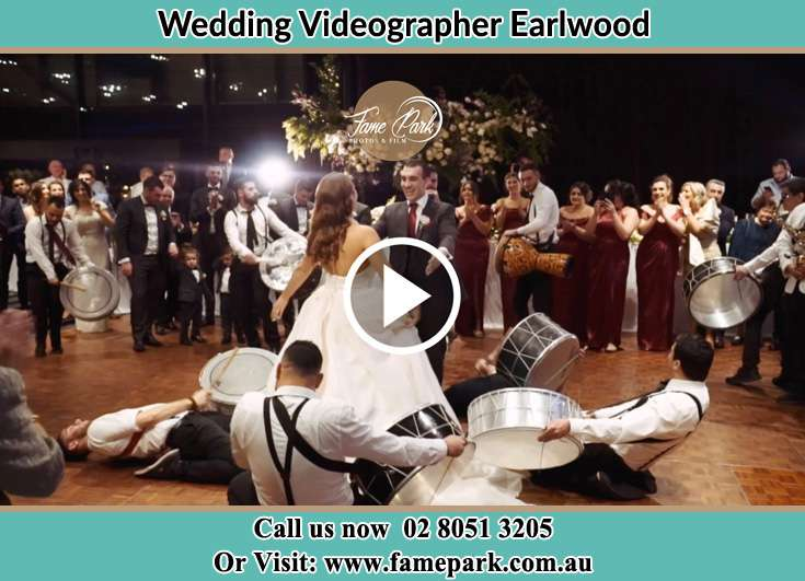 The new couple dancing on the dance floor with the band Earlwood NSW 2206