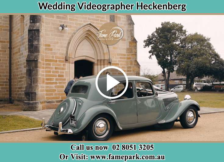 The wedding car Heckenberg NSW 2168