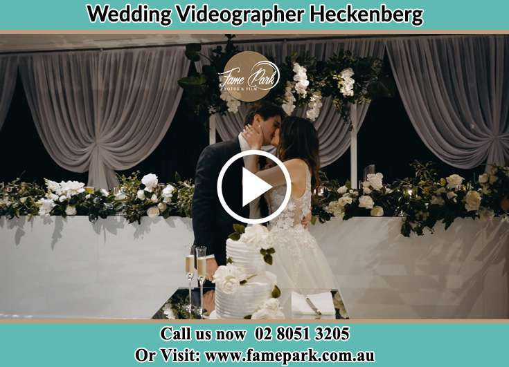 The new couple kissing Heckenberg NSW 2168