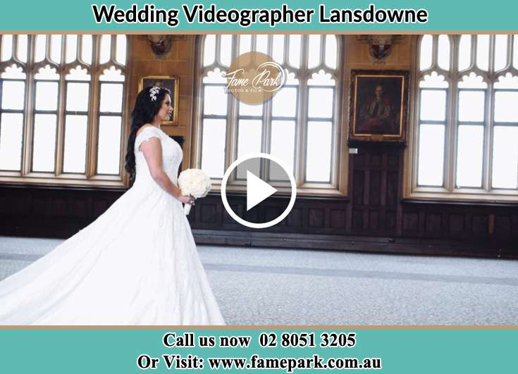 Bride walking at the aisle Lansdowne NSW 2430