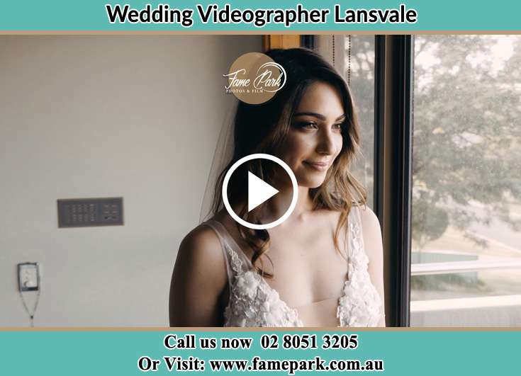 Bride looking at the window Lansvale NSW 2166