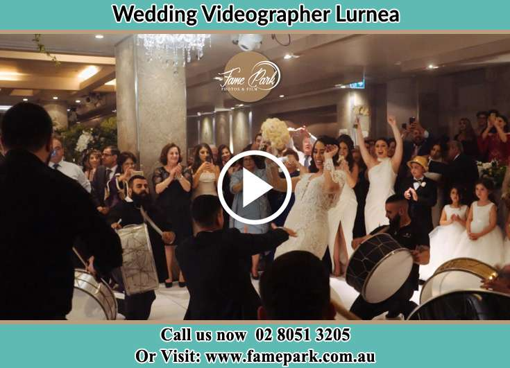 Bride and Groom at the dance floor Lurnea NSW 2170