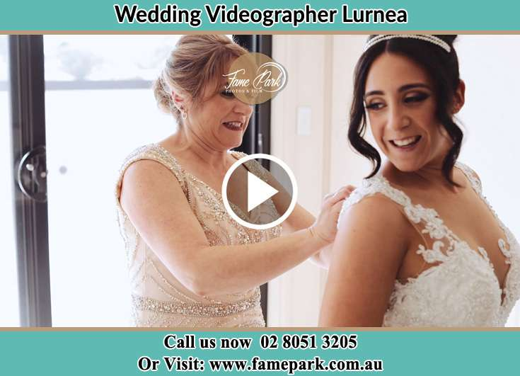Bride getting her wedding gown fitted Lurnea NSW 2170