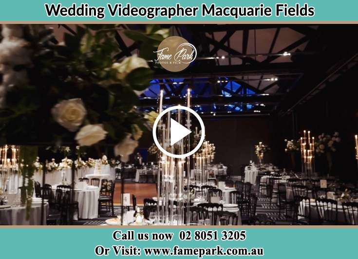 The reception Macquarie Fields NSW 2564