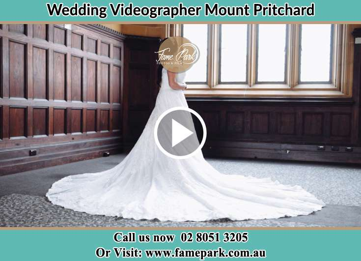 Bride looking at the church wedding Mount Pritchard NSW 2170