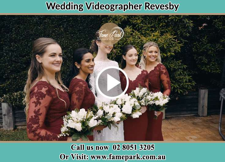 The Bride with her Brides maids Revesby NSW 2212