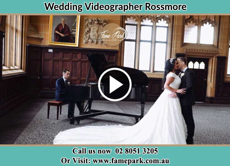 The new couple kissing while dancing Rossmore NSW 2557