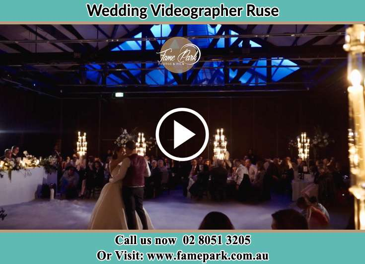 The new couple dancing on the dance floor Ruse NSW 2560