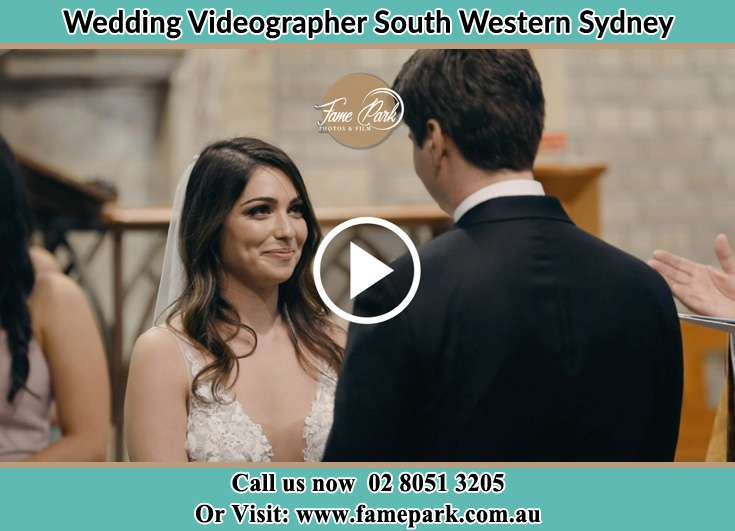 The Groom and the Bride staring at each other South Western Sydney