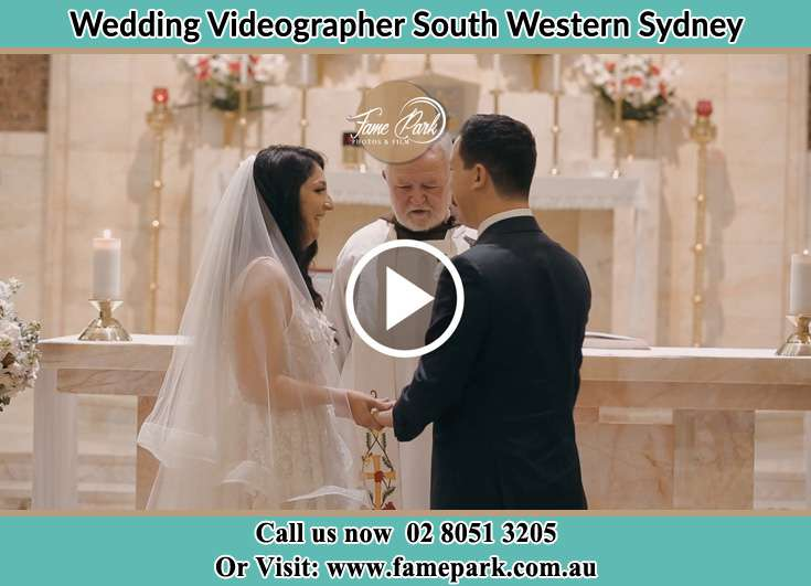 Wedding ceremony South Western Sydney