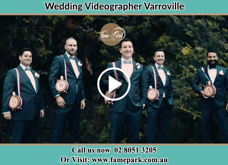 The Groom with his best mans Varroville NSW 2566