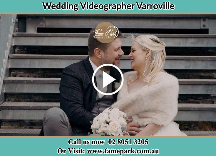 The newlyweds about to kiss Varroville NSW 2566