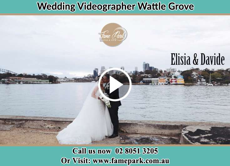 The new couple kissing Wattle Grove NSW 2173