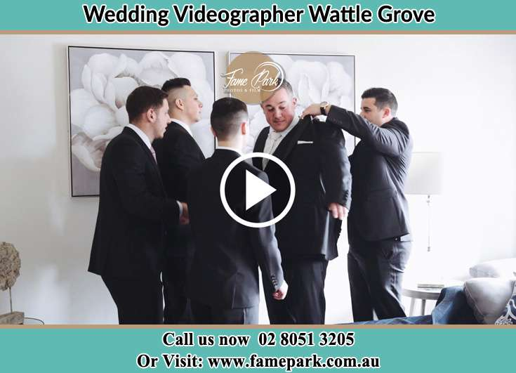 The Groom Assisting by his friend Wattle Grove NSW 2173