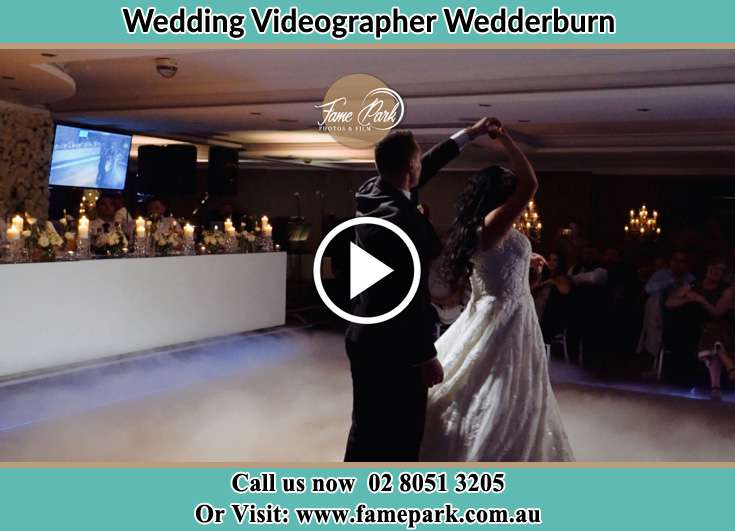 The new couple dancing on the dance floor Wedderburn NSW 2560