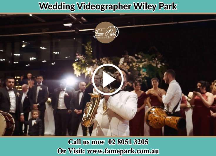 The live band at the reception Wiley Park NSW 2195